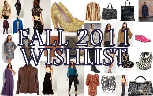 My 2011 Fall Wishlist