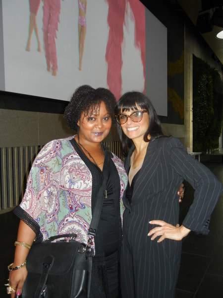Marie Denee and Norma Kamali