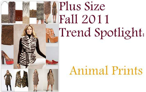 Plus Size Fall 2011 Trends Spotlight: Animal Prints