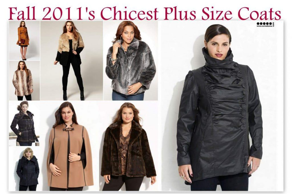 Fall 2011 plus size coat trends