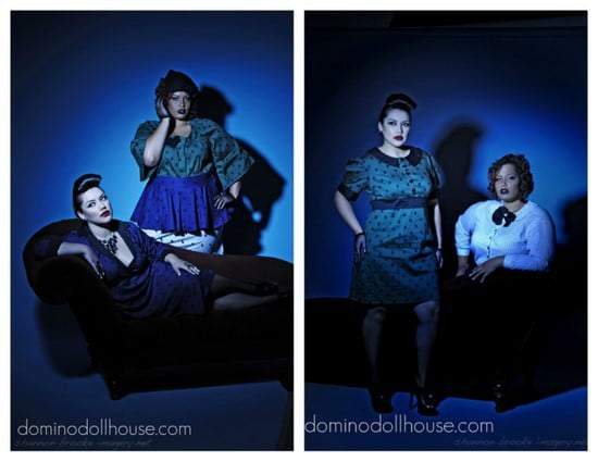 Domino Dollhouse Plus Size Fall 2011 Collection- Dottie Noir