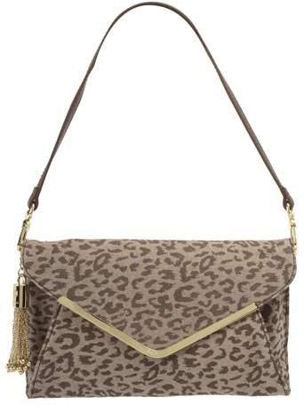 Plus Size Fall 2011 Trends Spotlight Animal Prints: Fiorelli Animal Clutch Bag