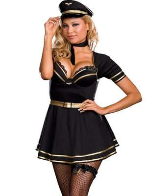 Plus Size Halloween Costumes at Hips and Curves: French Air Pilot