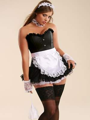 Plus Size Halloween Costumes at Hips and Curves: French Maid