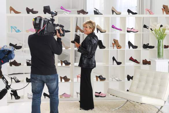Suze Orman Hosts QVC's FFANY Shoes on Sale for Breast Cancer Awareness