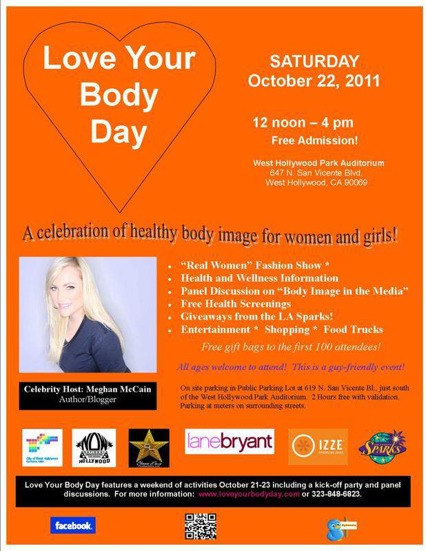 Hollywood Now Love Your Body Day