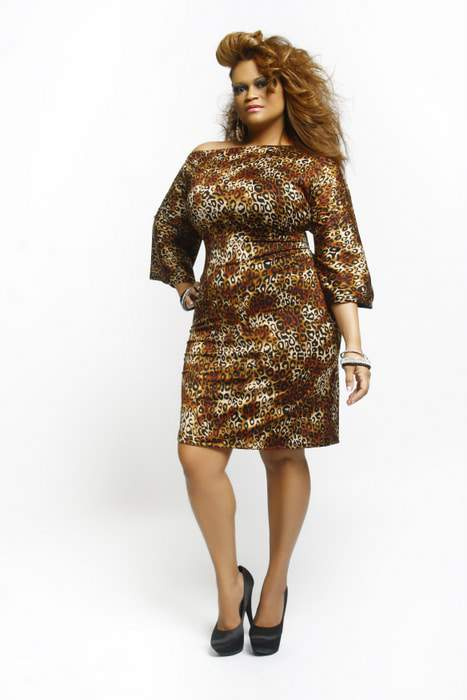 Plus Size Designer Qristyl Frazier Fall 2011 Collection- Epitome