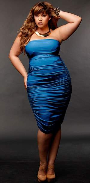Plus Size 2011 Fall Trend: Bold Colors-
