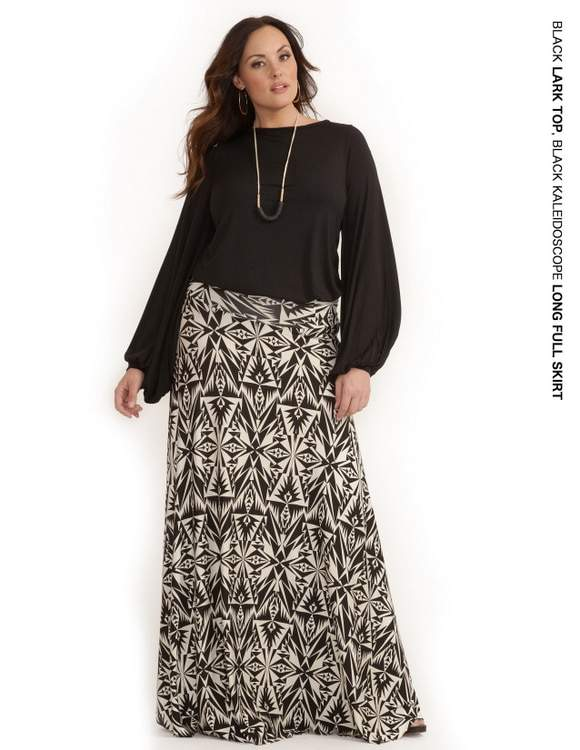 Rachel Pally White Label Holiday 2011: Lark Top and Long Full Skirt