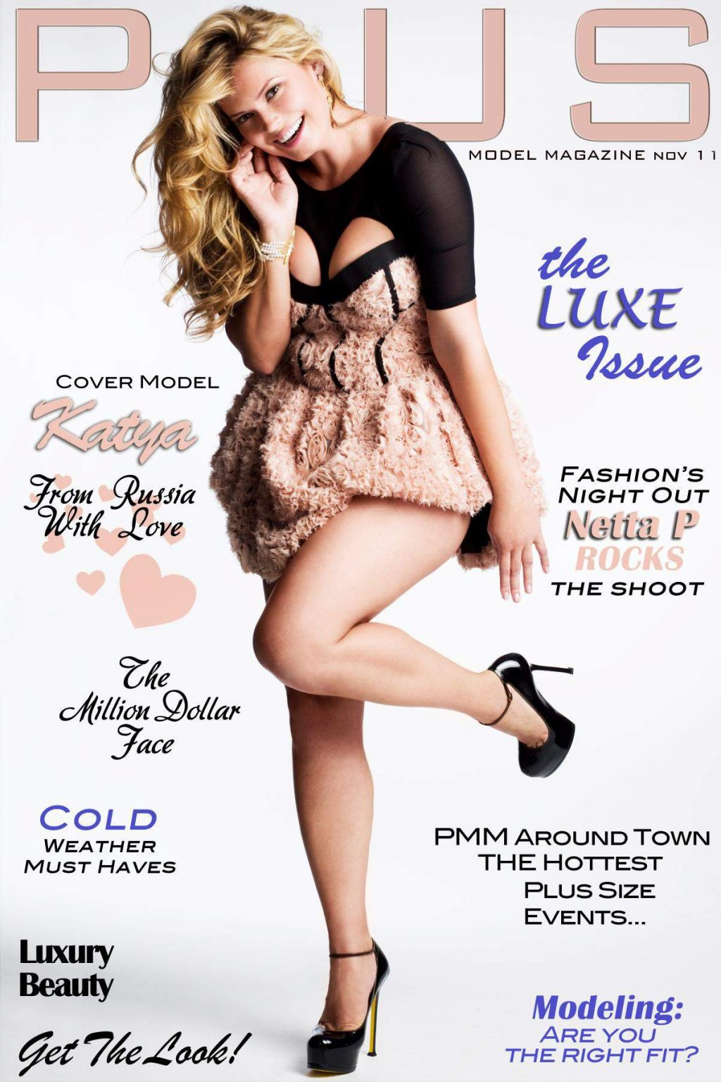 Plus Model Magazine November 2011 Cover