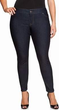 Curvy Fit Skinny Jeans at Eloquii