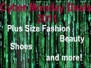 Cyber Monday Plus Size Fashion Deals