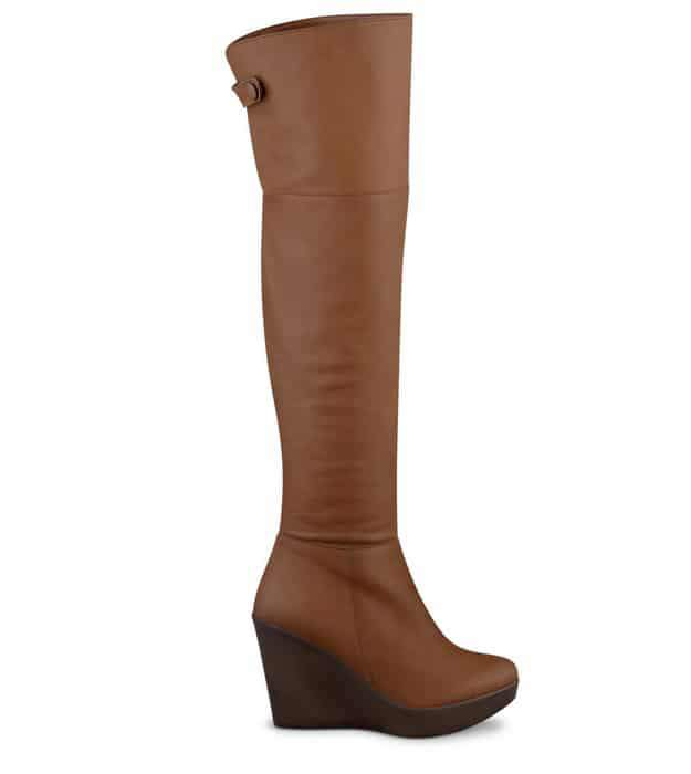 Wide Width and Wide Calf Boots: DUO Boots Treska Tan Leather