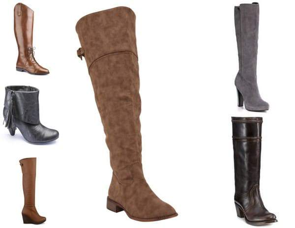 Curvy Fashionista Wide Calf Boots Wide Width and Wide Calf Boots