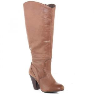 Wide Width and Wide Calf Boots: Evans Brown Western Boot