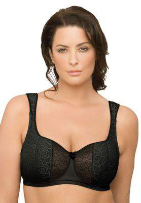 Natural Wire by Glamorise® demi bra up to a 50C