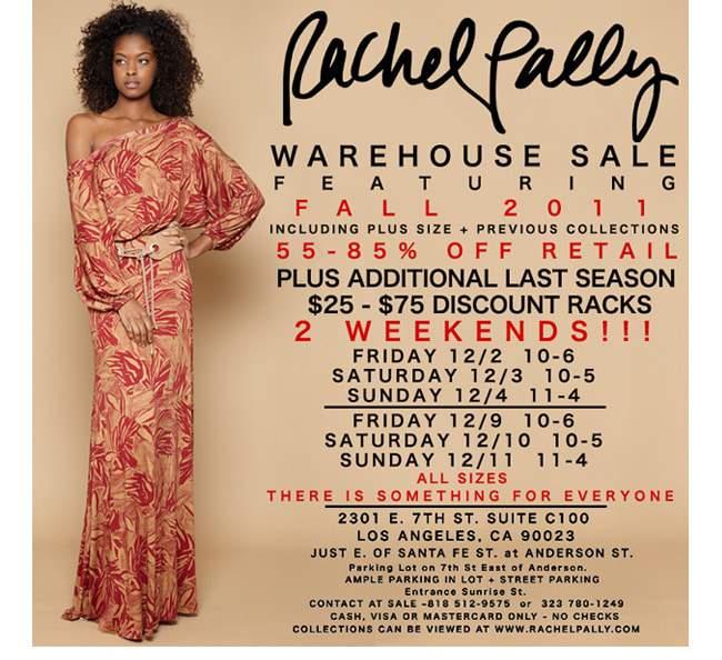 Rachel Pally Sample Sale