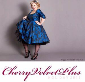 Canadian Plus Size Label: Cherry Velvet
