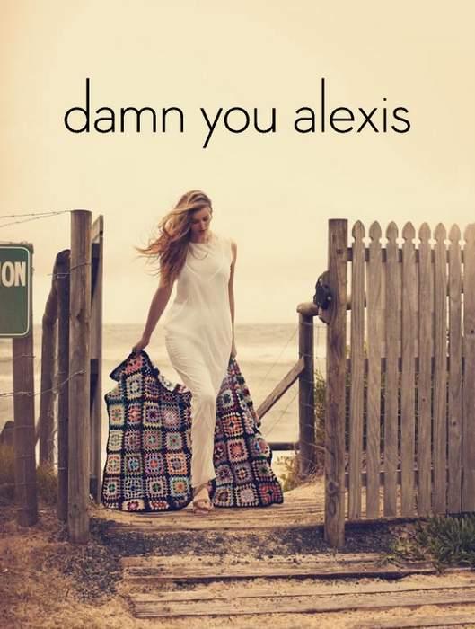 Plus Size Designer Damn You Alexis Spring Summer 2012 Look Book