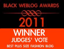 Black Weblog Awards Judges Vote- Best Plus Size Blog