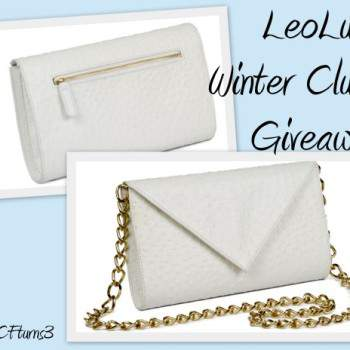 LeoLuca Giveaway on The Curvy Fashionista