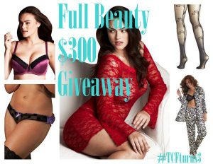 Full Beauty Giveaway on The Curvy Fashionista
