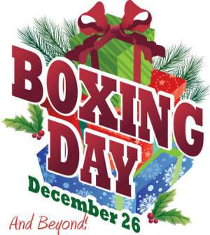 Plus Size Boxing Day and After Holiday Sales