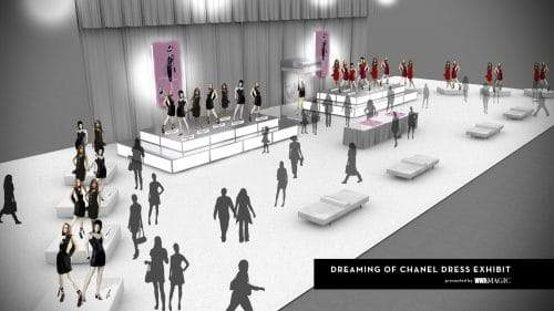THE 'DREAMING OF CHANEL' INSTALLATION & BOOK SIGNING
