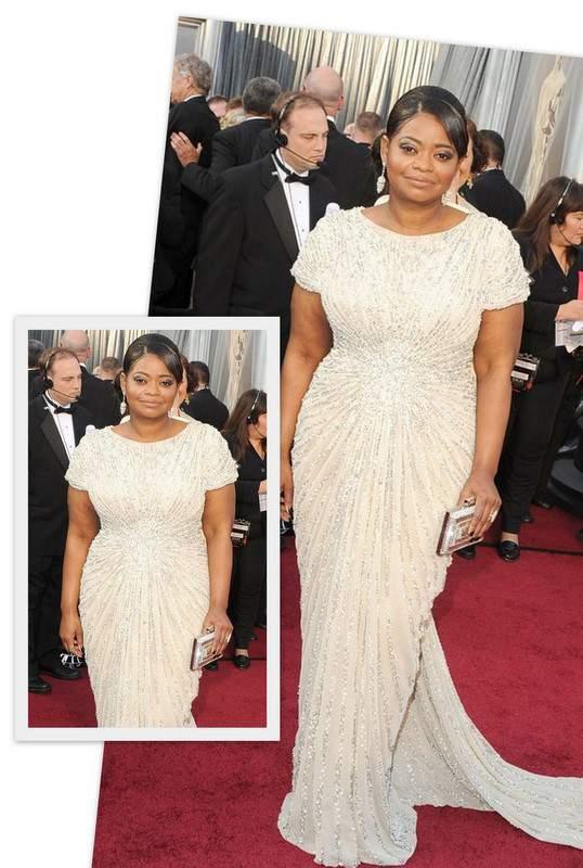 Academy Award Winner Octavia Spencer on the Red Carpet