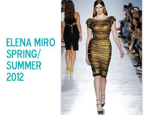 A Plus Size Spring: Elena Miro Spring 2012