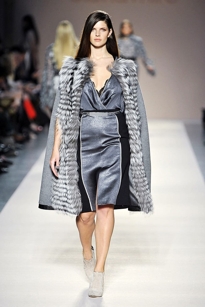 Steely Grey Elena Miro Fall 2012