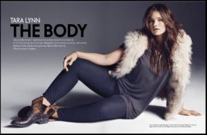 Tara Lynn The Body Elle France Cover 2012