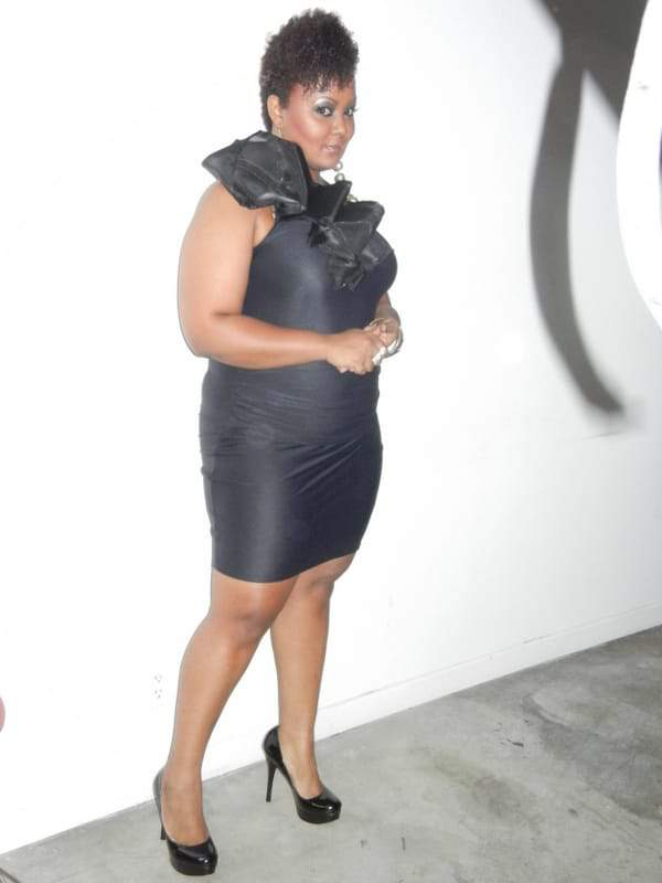 The Curvy Fashionista in Regard Magazine's Blog Shoot