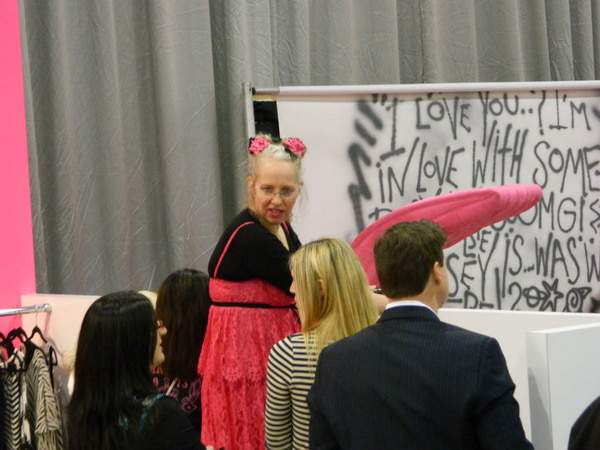Betsey Johnson Attends Magic Las Vegas