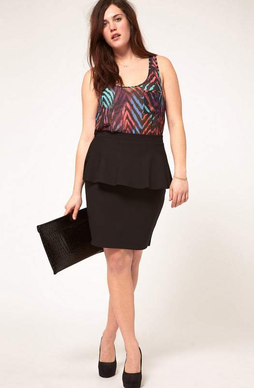Plus Size Spring Trends: The Peplum Details