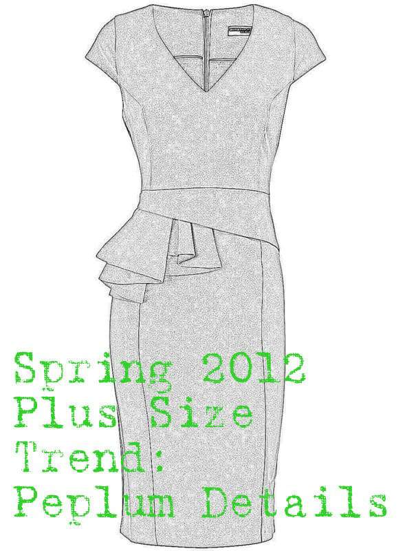 Plus Size Spring Trend- The Peplum