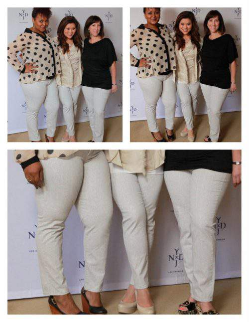 Not Your Daughter's Jeans Spring 12 Preview: One Jean Three Shapes