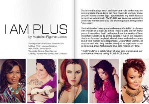 Plus Model Magazine Feature: I am Plus