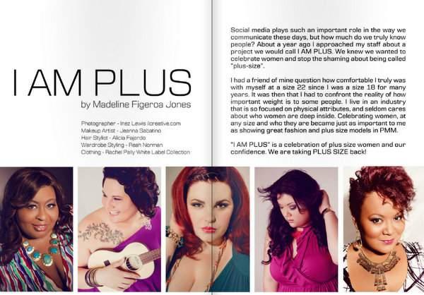 Plus Model Magazine Feature: I am Plus