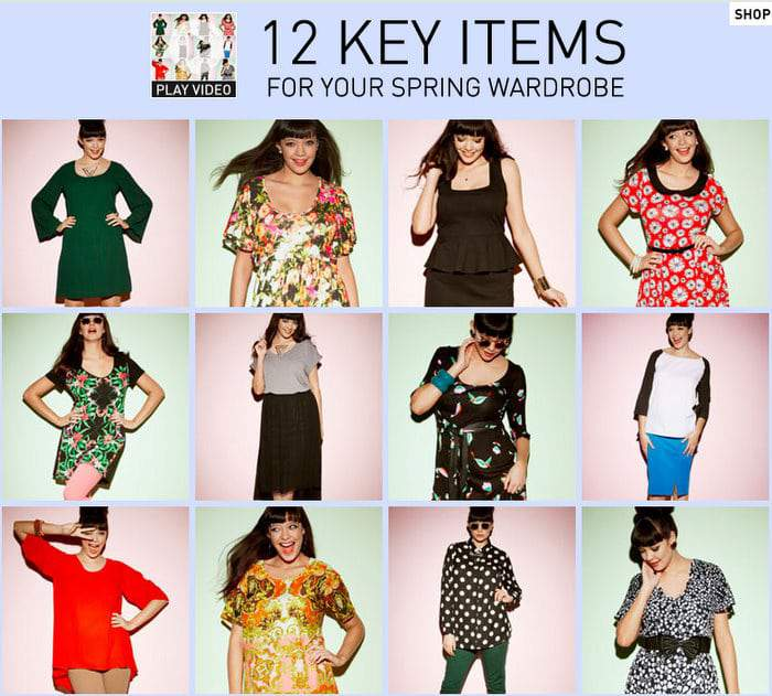 Simply Be 12 Key Items for Spring