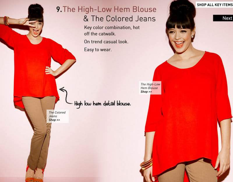 Simply Be Poppy Blouse