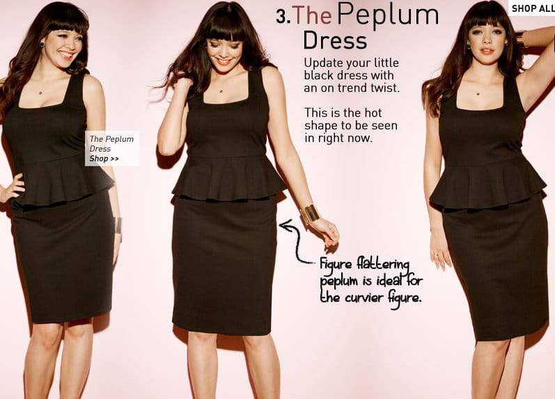 Simply Be Peplum Dress