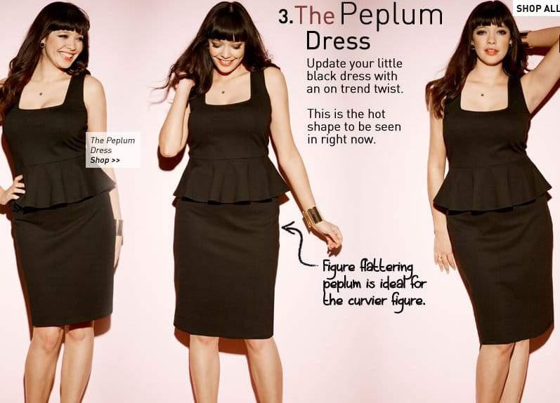 Simply Be Peplum Dress