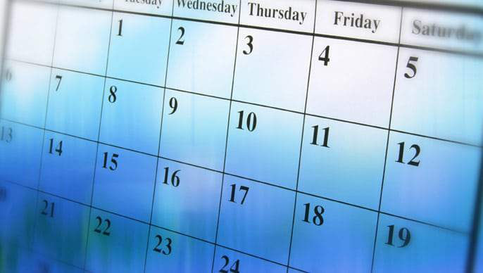 Introducing our Calendar of Events!