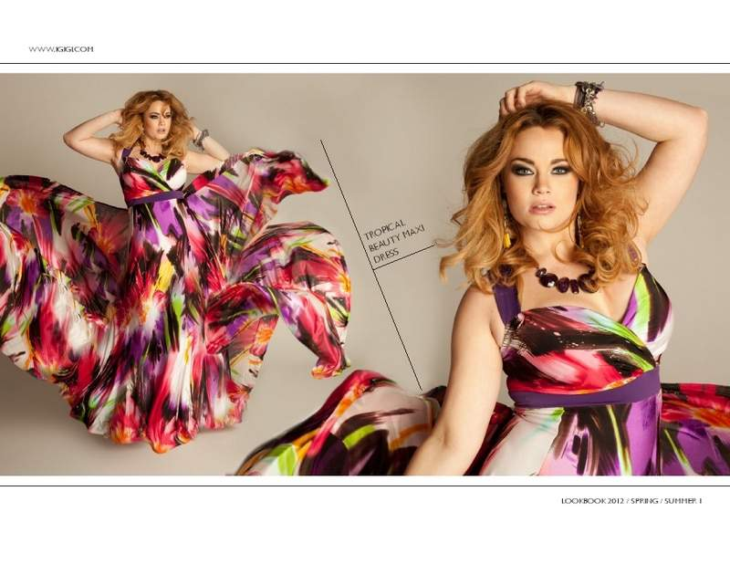 Plus Size Designer: Igigi Spring 2012 Collection