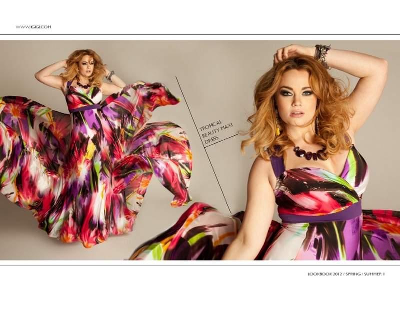 7c9b5203427 ... Breath of Fresh Air. Plus Size Designer  Igigi Spring 2012 Collection