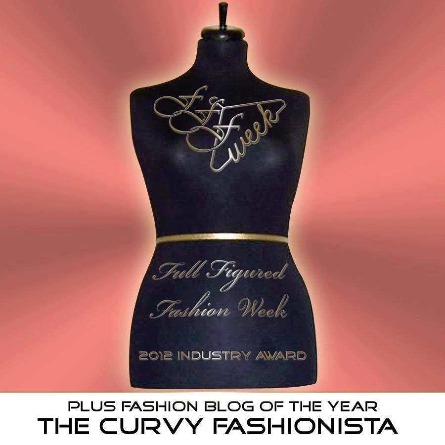 Best Plus Size Fashion Blog Award