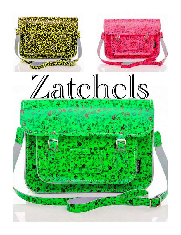 Neon Satchels by Zatchels