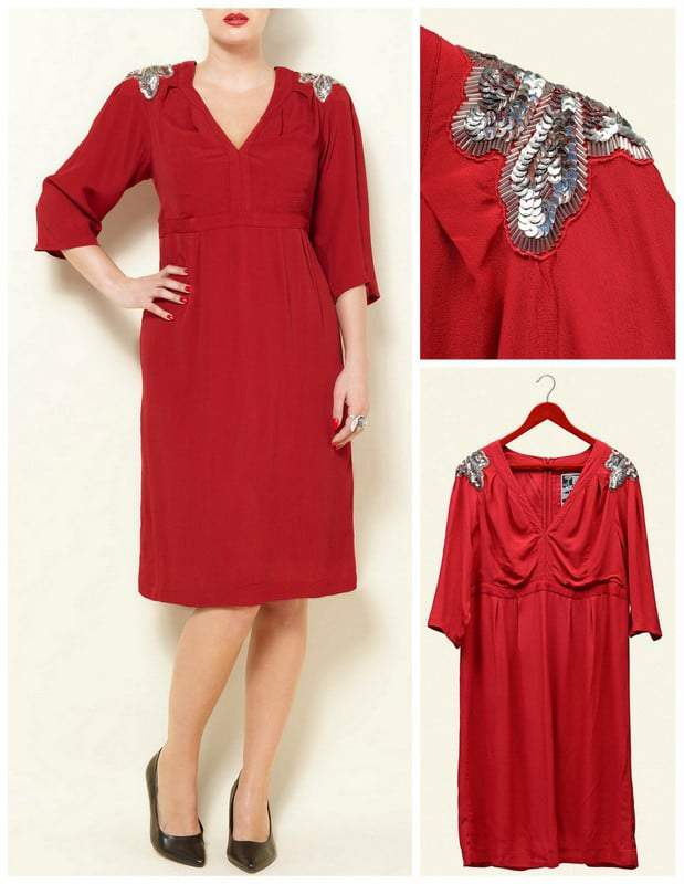 Swan by Clements Ribeiro for Evans Joan Dress