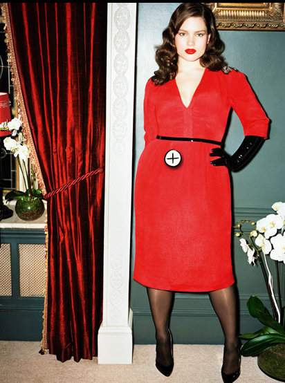 Gotta Have It: Swan by Clements Ribeiro Red 'Joan' Dress with Sequin